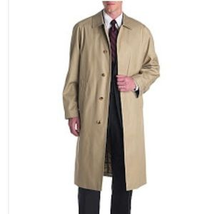 London Fog Umtimate Balmacaan Coat